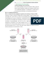 Transferts génétiques chez les bactéries