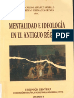 Mentalidad e ideología en el antiguo régimen