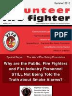The Volunteer Fire Fighter Magazine - Summer, 2010