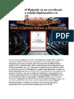 Documentul Majestic 12 Ne Revelează Că SUA Avea Relații Diplomatice Cu Extratereștrii