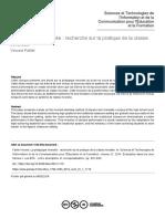 pédagogie inversé resultat discussion contexte evaluation
