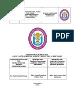 Guia de prácticas Ingeniería de alimentos II