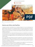 Guerra con Chile o del Pacífico _ Historia del Perú