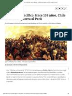 _Guerra del Pacífico_ Hace 138 años, Chile declaró la guerra al Perú Cultura _ Correo