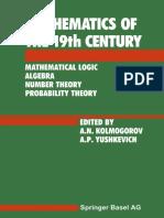Z. A. Kuzicheva (auth.), A. N. Kolmogorov, A. P. Yushkevich (eds.) - Mathematics of the 19th Century_ Mathematical Logic Algebra Number Theory Probability Theory (1992, Birkhäuser Basel).pdf