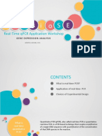 ICoBioSE real-time qPCR Application Workshop_Gene Expression Analysis