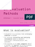 05 UX Evaluation Method