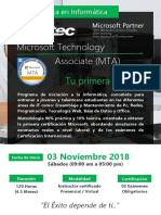 ESCUELA TECNICA MTA - NOVIEMBRE 2018