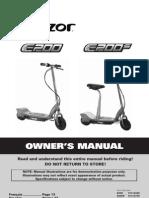 e200 Series Manual