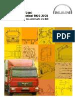 MAN l2000 m2000 f2000 Service Manual