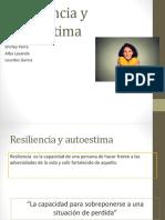 Resiliencia y Autoestima