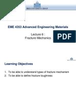 Lecture 6 Fracture Mechanics.pptx