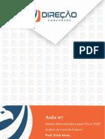 Análise das Informações para Auditor - Apostila - Aula 7