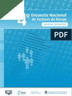 4ta Encuesta Nacional Factores Riesgo