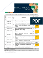 Cronograma de Atividades 2019-3