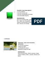 Manual Cocteles