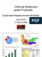 Kosovo Informal Settlement Upgrade Proposals