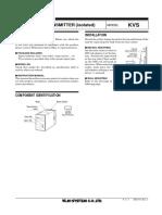 (emkvs) SIGNAL TRANSMITTER (isolated)