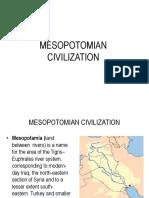 THE MESOPOTAMIAN CIVILIATION.ppt