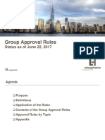 Group Approval Rules Presentation June 22 2017