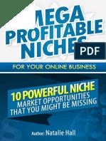 Mega Profitable Niches for Your Online Business.pdf