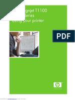 User Manual HP designjet_t1100