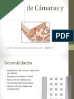 Diseño de Cámaras y Pilares- MR