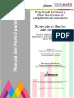 Los principios y procesos administrativos en el contexto del Estado de México