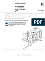 Sistema de chorro  abrasivo con vapor  EcoQuip 2™