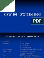 CSW 101 - SWIMMING.ppt