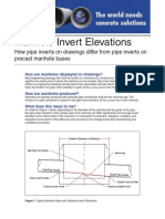 Bulletin 2 - Ocean Pipe Manhole Invert Elevations Sheet