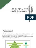 #7#waste disosal# introduction