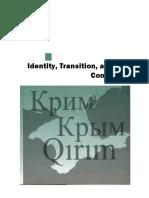 (Ukrainian Studies) Gwendolyn Sasse-The Crimea Question-Harvard University Press (2007)