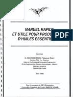 Manuel Rapide Et Utile Pour Producteurs d Huiles Essentielles