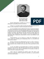 Philo Paper for Finals - Machiavelli