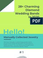 28+ Charming Diamond Wedding Bands in 2020