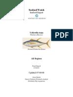 Seafood Watch Yellowfin Tuna Report