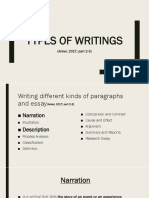 Week 11 - Types of Writing (Narration + Description).pptx