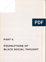Foundations of Black Social Thought
