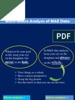 10. Micro-Macro Analysis