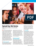 Spread Joy, Not Germs