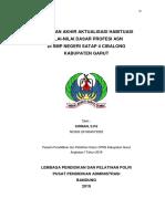 laporan akhir aktualisasi Habituasi Kirman, S.Pd-1-1 - Copy