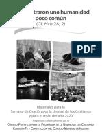 2019 Relaciones Interconfesionales Semana Oracion Materiales