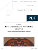 Does Consciousness Pervade the Universe? - Scientific American