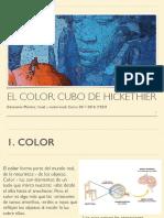 El Color, Cubo de Hickethier- 2º ESO