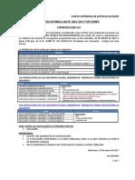 3155_09 COMUNICADO 02 - LUGAR Y HORA DE LA EVALUACION TECNICA (3)