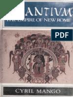 Byzantium the Empire of New Rome (Cyril Mango).pdf