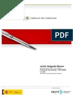 Currículum CVN Javier Helgueta Manso (enero 2020)