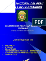 CONSTITUCION POLITICA  DEL PERU. 12 MAY 2009