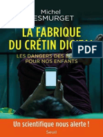 La fabrique du cretin digital - - Michel Desmurget.epub